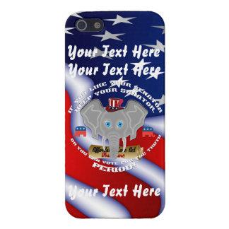 El republicano este diseño cabe todos iPhone 5 carcasa