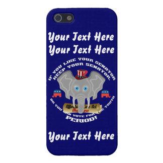 El republicano este diseño cabe todos iPhone 5 carcasas