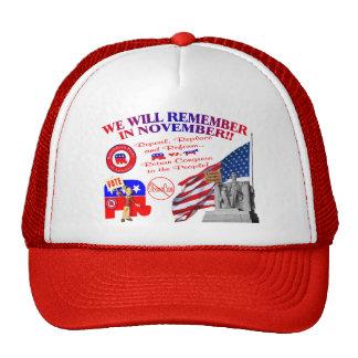El republicano recuerda en noviembre ObamaCare ant Gorras De Camionero