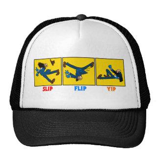 El resbalón, tirón, Yip gorra de béisbol