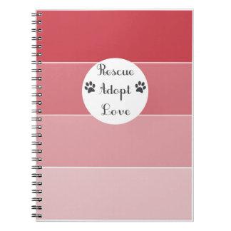 El rescate adopta el cuaderno del amor + Diario