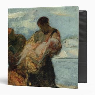 "El rescate, c.1870 carpeta 1 1/2"""