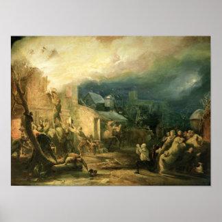 El rescate de John Wesley Poster