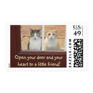 El rescate del mascota/adopta franqueo sellos