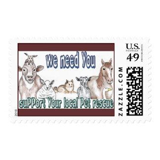 El rescate del mascota sella 1 sellos