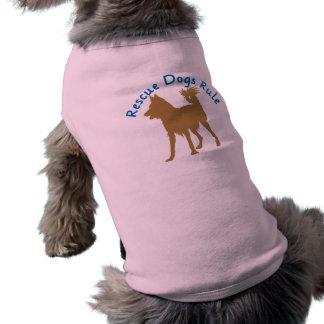 El rescate persigue la regla v3 ropa perro