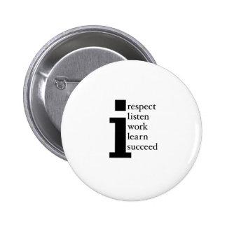 El respecto aprende tiene éxito escucha trabajo pin