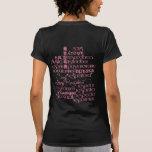 El respecto comienza con uno mismo camisetas