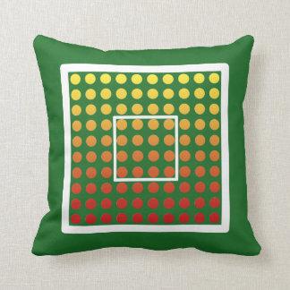 El resplandor caliente, escoge el color, almohada