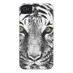 El resplandor del tigre Case-Mate iPhone 4 carcasas