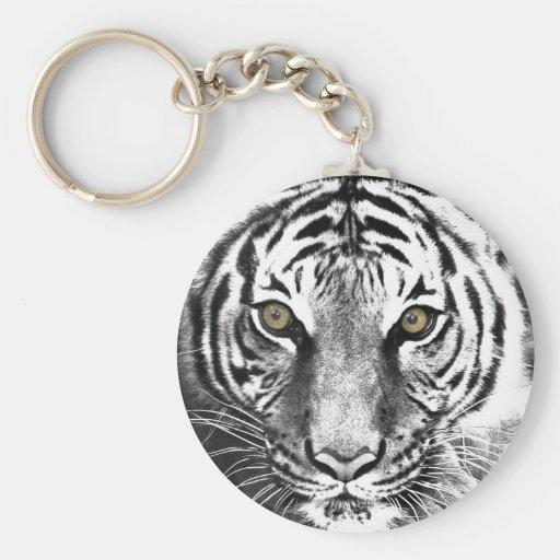 El resplandor del tigre llaveros personalizados