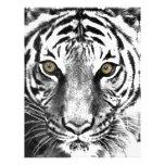 El resplandor del tigre membretes personalizados