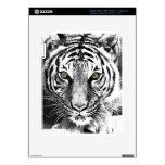 El resplandor del tigre pegatina skin para iPad 3