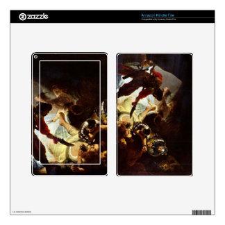 El resplandor Simsons de Rembrandt Pegatinas Skins Para Kindle Fire