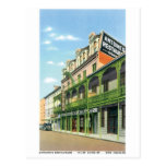 El restaurante de Antoine, New Orleans, Luisiana Tarjeta Postal