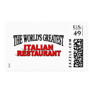 El restaurante italiano más grande del mundo sello