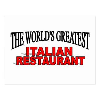 El restaurante italiano más grande del mundo postales