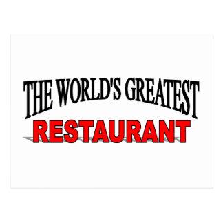 El restaurante más grande del mundo postales