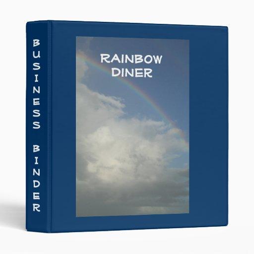 """El restaurante suministra el arco iris de la carpe carpeta 1"""""""