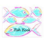 El restaurante suministra los mariscos tarjetas postales