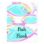 El restaurante suministra los mariscos tarjeta postal