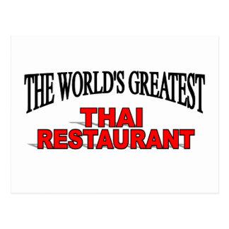 El restaurante tailandés más grande del mundo tarjetas postales