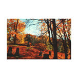 El resto de los otoños estiró la impresión de la l impresión en lona estirada