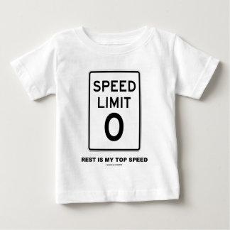 El resto del límite de velocidad cero es mi t shirts