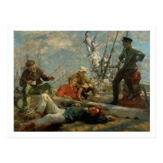 El resto del mediodía (marineros que cuentan un postales