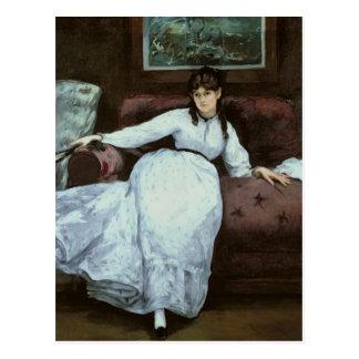 El resto, retrato de Berthe Morisot Tarjetas Postales