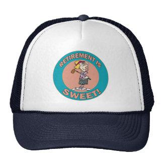 El retiro es el dulce (2) gorro
