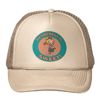 El retiro es el dulce (2) gorras de camionero