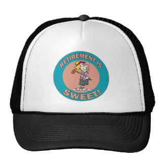 El retiro es el dulce (2) gorro de camionero