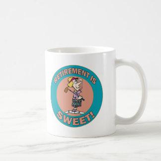 El retiro es el dulce (2) taza básica blanca