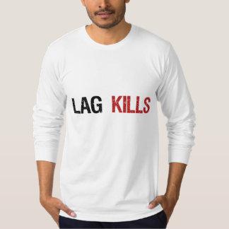 El retraso mata a videojugadores camisas
