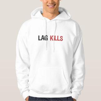 El retraso mata a videojugadores jersey con capucha