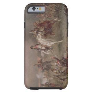 El retratamiento de Napoleon (aceite en lona) Funda De iPhone 6 Tough