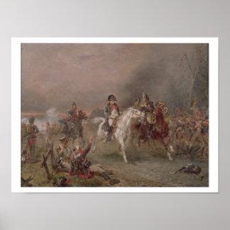 El retratamiento de Napoleon (aceite en lona) Impresiones