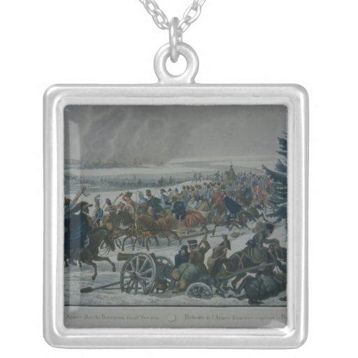 El retratamiento del ejército francés de Moscú Collar Plateado