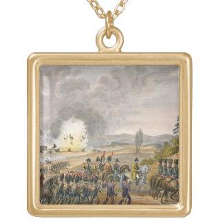 El retratamiento francés después de la batalla de  colgante cuadrado