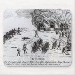 El retratamiento, publicado 1775 tapete de ratones