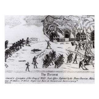 El retratamiento, publicado 1775 tarjeta postal