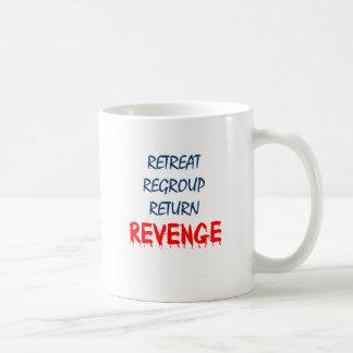 El retratamiento reagrupa la venganza de vuelta taza clásica