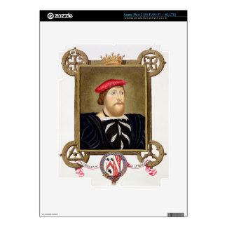 El retrato de 1477-1539) condes de Thomas Boleyn ( iPad 3 Pegatina Skin
