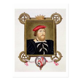 El retrato de 1477-1539) condes de Thomas Boleyn Postal