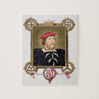 El retrato de 1477-1539) condes de Thomas Boleyn ( Puzzle