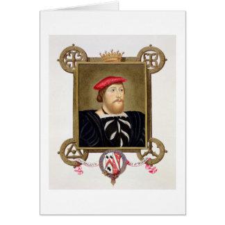 El retrato de 1477-1539) condes de Thomas Boleyn ( Tarjeta De Felicitación