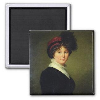 El retrato de Arabella hace frente duquesa de Dor Iman De Frigorífico