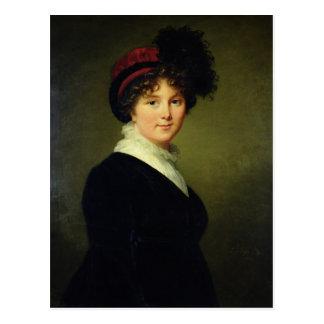 El retrato de Arabella hace frente, duquesa de Postal