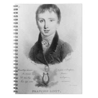El retrato de Franz Liszt (1811-86) envejeció 11 ( Cuaderno